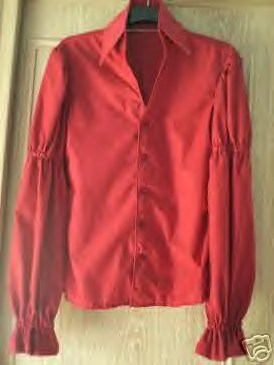 Elvis Presley Red Shirt Memorabilia