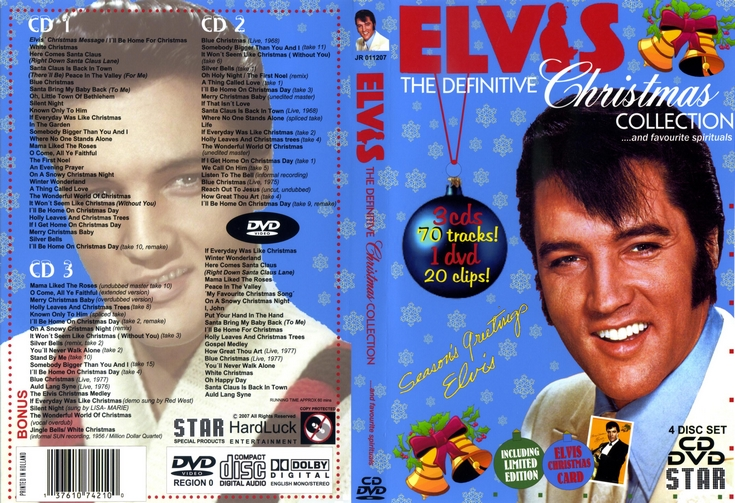 Elvis Christmas DVD and CD Box-Set Christmas with Elvis duets